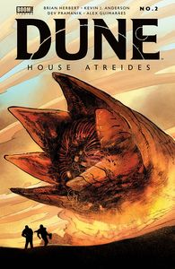[Dune: House Atreides #2 (2nd Printing) (Product Image)]