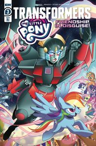[My Little Pony/Transformers #3 (Tramontan Variant) (Product Image)]