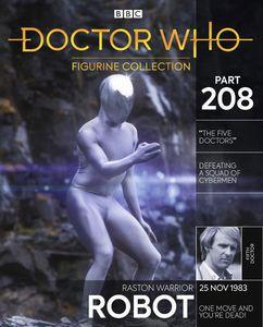 [Doctor Who Figurine Collection #208: Raston Warrior Robot (Product Image)]