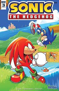 [Sonic The Hedgehog #3 (Cover A Hesse) (Product Image)]