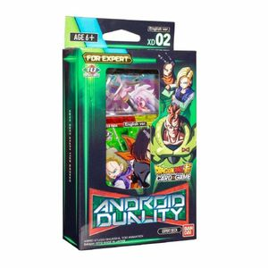 [Dragon Ball Super: Card Game: Expert Deck XD02: Android Duality (Product Image)]