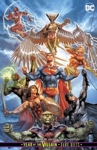 [Justice League #30 (Card Stock Variant Edition YOTV Dark Gifts) (Product Image)]