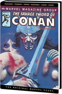 [Savage Sword Of Conan: Original Marvel Years: Omnibus: Volume 5 (DM Variant Hardcover) (Product Image)]
