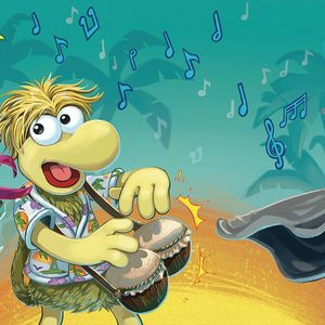 [Jim Henson's Fraggle Rock #2 (Subscription Myler Connecting Cover) (Product Image)]
