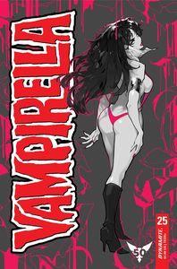 [Vampirella #25 (Cover M Besch Mono Variant) (Product Image)]
