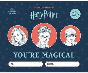 [Harry Potter: You're Magical (Hardcover Fill-In Book) (Product Image)]