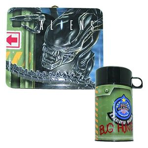 [Aliens: Lunch Box With Thermos (Product Image)]