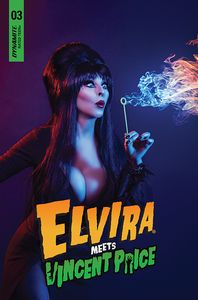 [Elvira Meets Vincent Price #3 (Cover D Photo) (Product Image)]