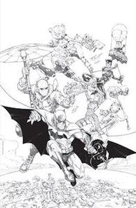 [Batman/Fortnite: Zero Point: Batman Day Special Edition #1 (Cover B Rocafort Black & White Variant) (Product Image)]