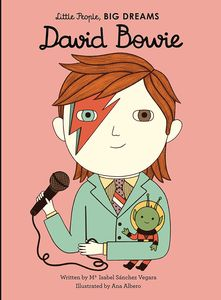 [Little People, Big Dreams: David Bowie (Hardcover) (Product Image)]
