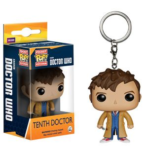 [Doctor Who: Pocket Pop! Vinyl Keychain: 10th Doctor (Product Image)]