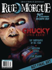 [Rue Morgue Magazine #203 (August 2021) (Product Image)]