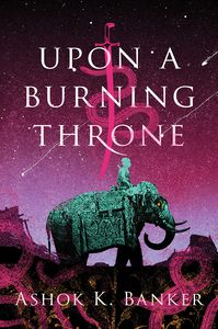 [Upon A Burning Throne (Hardcover) (Product Image)]