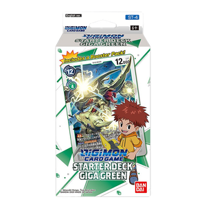 [Digimon: Card Game: Starter Deck (Giga Green ST-4) (Product Image)]