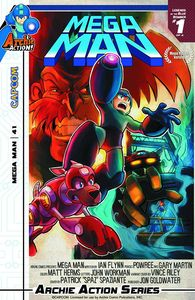 [Mega Man #41 (Movie Poster Variant Cover) (Product Image)]