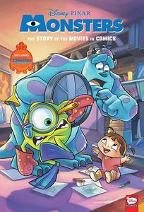 [Disney/Pixar: Monsters Inc. & Monsters University: The Story Of The Movies In Comics (Product Image)]