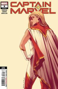 [Captain Marvel #8 (2nd Printing Carnero New Art Variant) (Product Image)]