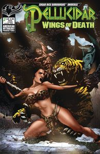 [Pellucidar: Wings Of Death #2 (Cover A Martinez) (Product Image)]