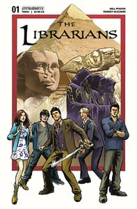 [Librarians #1 (Cover A Moline) (Product Image)]