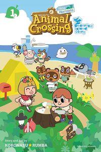 [Animal Crossing: New Horizons: Volume 1: Deserted Island Diary (Product Image)]