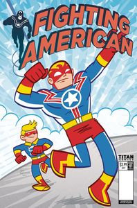 [Fighting American #1 (Cover B Baltazar) (Product Image)]