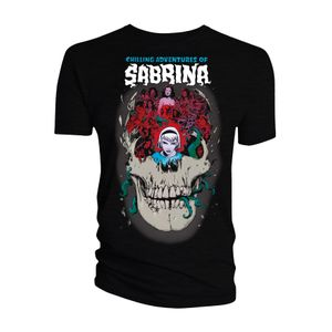 [Archie Comics: Chilling Adventures Of Sabrina: T-Shirt: Monsters, Skulls & Witchcraft (Product Image)]