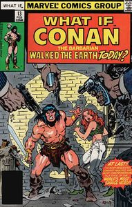 [True Believers: What If Conan Walked Earth Today #1 (Product Image)]