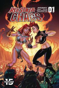[Red Sonja: Age Of Chaos #1 (Cover D Garza) (Product Image)]