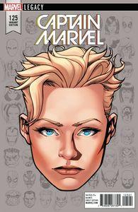 [Mighty Captain Marvel #125 (McKone Legacy Headshot Variant) (Legacy) (Product Image)]