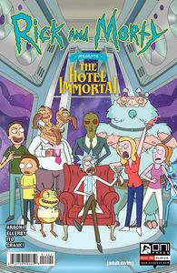 [Rick & Morty Presents: Hotel Immortal #1 (Cover B Murphy) (Product Image)]