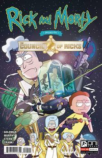 [The cover for Rick & Morty Presents: Council Of Ricks #1 (Cover A Murphy)]