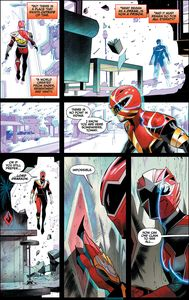 [Mighty Morphin Power Rangers #49 (Mora Variant) (Product Image)]