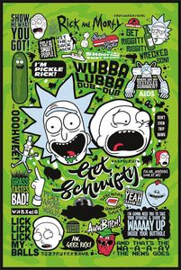 [Rick & Morty: Poster: Quotes (Product Image)]