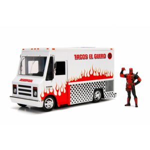 [Deadpool: 1:24 Scale Die Cast Statue: Taco Truck With Deadpool Figure (Product Image)]