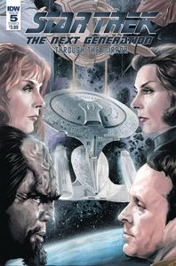[Star Trek: The Next Generation: Through The Mirror #5 (Cover A Woodward) (Product Image)]