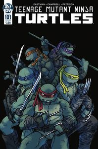 [Teenage Mutant Ninja Turtles: Ongoing #101 (Cover A Campbell) (Product Image)]