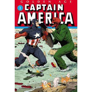[Golden Age: Captain America: Omnibus: Volume 2 (Rivera Cover Hardcover) (Product Image)]