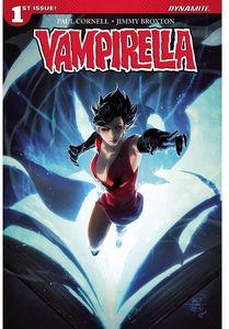 [Vampirella #1 (Cover A Tan Signed Edition) (Product Image)]