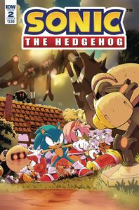 [Sonic The Hedgehog #2 (Cover B Thomas) (Product Image)]