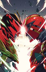 [Power Rangers #12 (Cover B Legacy Variant Di Nicuolo) (Product Image)]