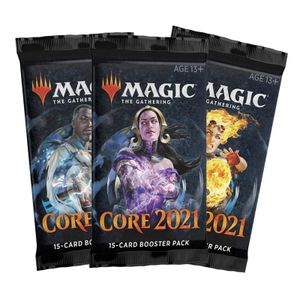 [Magic The Gathering: Card Game: Core 2021: Booster Pack Single (Product Image)]