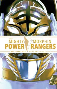 [Mighty Morphin Power Rangers: Necessary Evil I (Deluxe Edition Hardcover) (Product Image)]