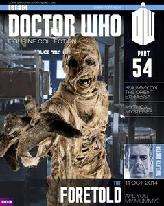 [Doctor Who: Figurine Collection Magazine #54 Foretold (Product Image)]