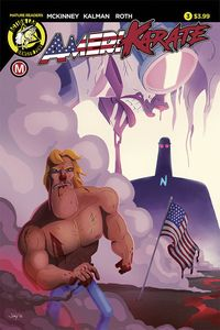 [Amerikarate #3 (Cover A Roth) (Product Image)]