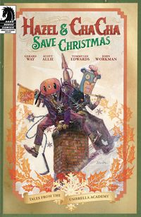 [The cover for Hazel & Cha Cha Save Christmas: Tales Umbrella Academy (Cover A)]