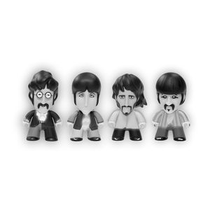 [The Beatles: TITANS: Glow In The Dark Fab Four Pack (Product Image)]