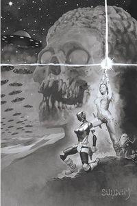 [Mars Attacks/Red Sonja #3 (Suydam GS Virgin Variant) (Product Image)]