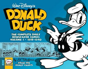 [Donald Duck: Daily Newspaper Comics Volume 1 (Hardcover) (Product Image)]