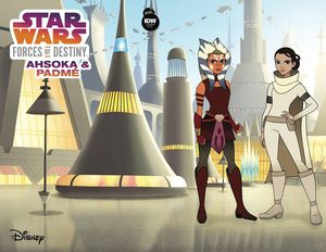 [Star Wars Adventures: Forces Of Destiny: Ahsoka & Padme (Pinto Variant) (Product Image)]