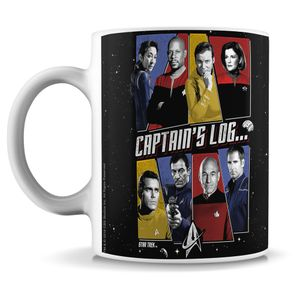 [Star Trek: Mug: Captain's Log (Product Image)]